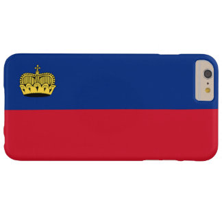 Flag of Liechtenstein Barely There iPhone 6 Plus Case