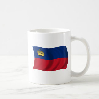 Flag of Liechtenstein Coffee Mug