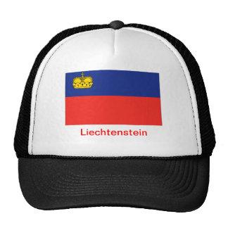 Flag of Liechtenstein Mesh Hat