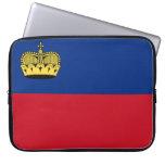 Flag of Liechtenstein Neoprene Laptop Sleeve