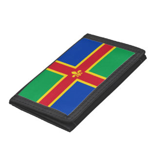 Flag of Lincolnshire Trifold Wallet
