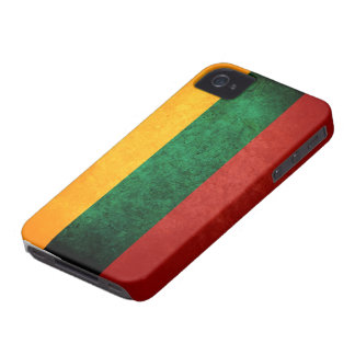 Flag of Lithuania iPhone 4 Case
