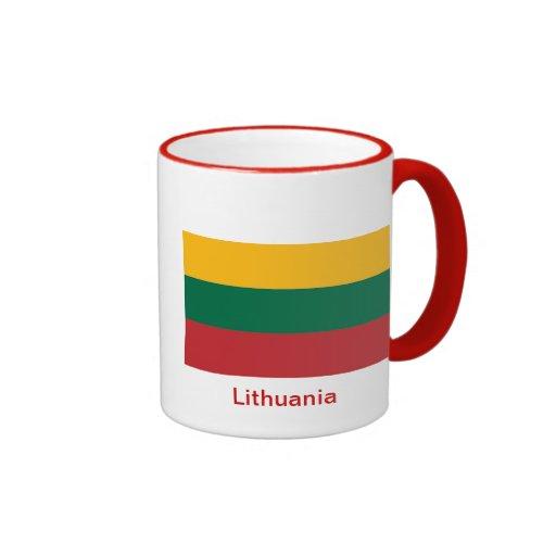 Flag of Lithuania Coffee Mugs
