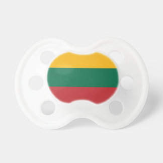 Flag of Lithuania Pacifier