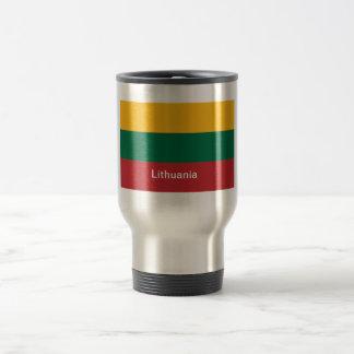 Flag of Lithuania Travel Mug