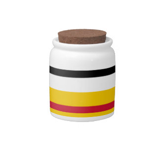 Flag of Loon op Zand Candy Jars