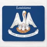 Flag of Louisiana Mouse Pad