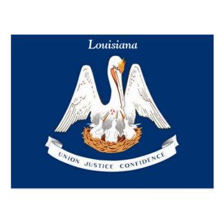 Flag of Louisiana Postcard