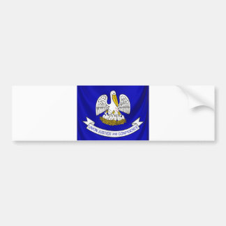 Flag of Louisiana, USA State Bumper Sticker