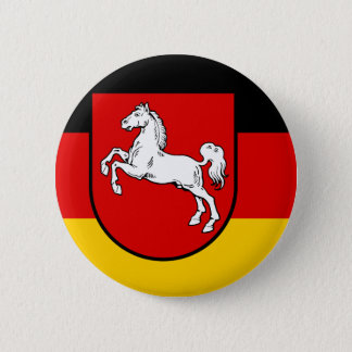 Flag of Lower Saxony Button