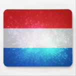 Flag of Luxembourg Mouse Pad
