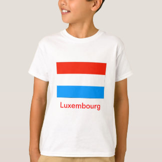 Flag of Luxembourg T-Shirt