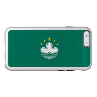 Flag of Macau Silver iPhone Case