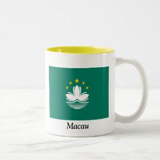 Flag of Macau Two-Tone Coffee Mug