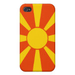 Flag of Macedonia iPhone 4/4S Cases