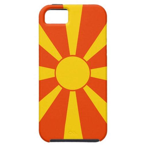 Flag of Macedonia iPhone 5 Covers