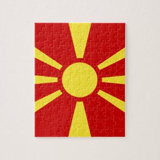 Flag_of_Macedonia Jigsaw Puzzle