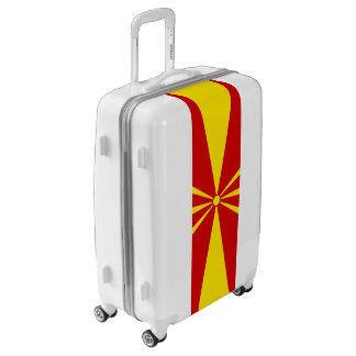 Flag of Macedonia Luggage (Medium)