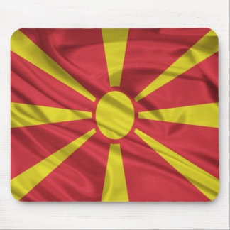 Flag of Macedonia Mouse Pads