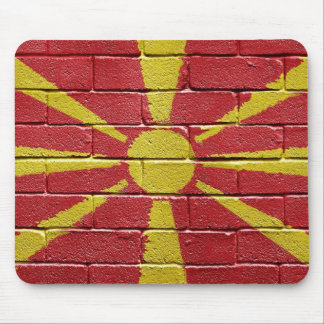Flag of Macedonia Mouse Pad
