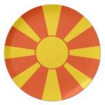 Flag of Macedonia Plates