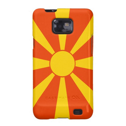Flag of Macedonia Samsung Galaxy S2 Cover