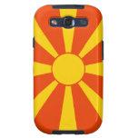 Flag of Macedonia Samsung Galaxy SIII Cases