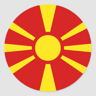 Flag of Macedonia Sticker
