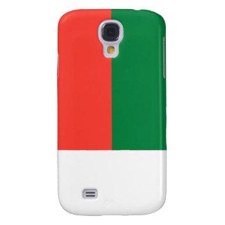 Flag of Madagascar Galaxy S4 Cases