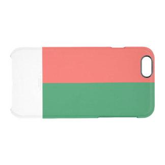 Flag of Madagascar Clear iPhone Case