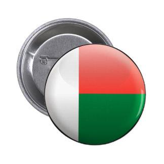 Flag of Madagascar Pinback Button