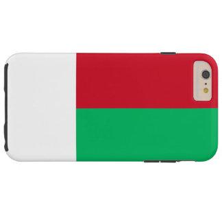 Flag of Madagascar Tough iPhone 6 Plus Case