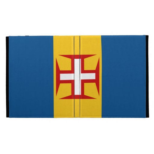 Flag of Madeira iPad case