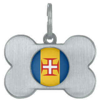 Flag of Madeira Pet ID Tags