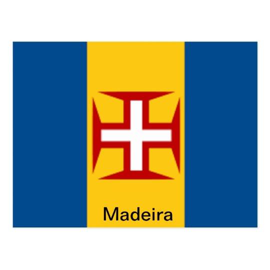 Flag of Madeira Postcard