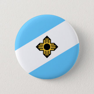 Flag of Madison, Wisconsin Pinback Button