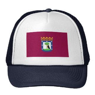 Flag of Madrid Trucker Hat