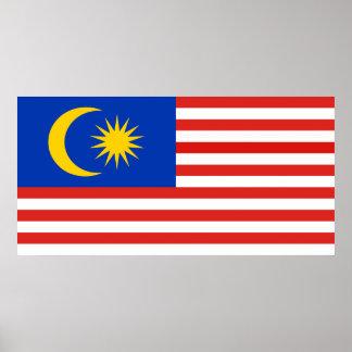 Flag of Malaysia Jalur Gemilang Poster