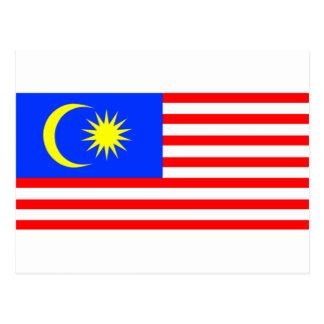 Flag of Malaysia Postcard