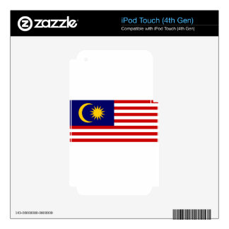 Flag_of_Malaysia Skins For iPod Touch 4G