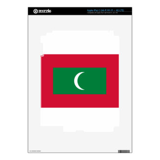 Flag_of_Maldives Decal For iPad 3