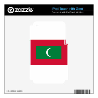 Flag_of_Maldives iPod Touch 4G Skins