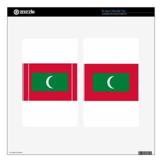 Flag_of_Maldives Kindle Fire Skins