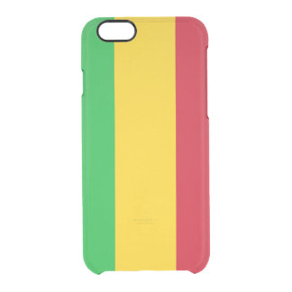 Flag of Mali Clear iPhone Case