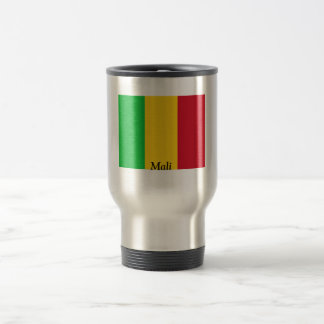 Flag of Mali 15 Oz Stainless Steel Travel Mug