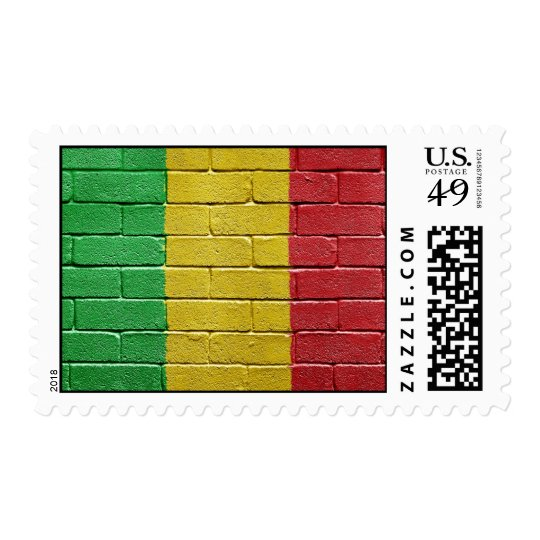 Flag of Mali Postage