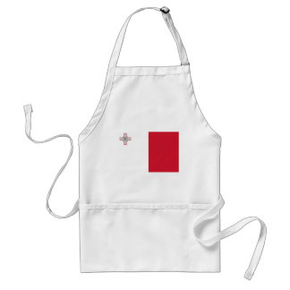 Flag of Malta Adult Apron