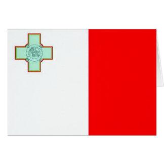 Flag of Malta Card