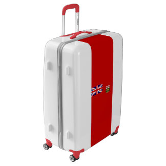 Flag of Manitoba Luggage (Large)