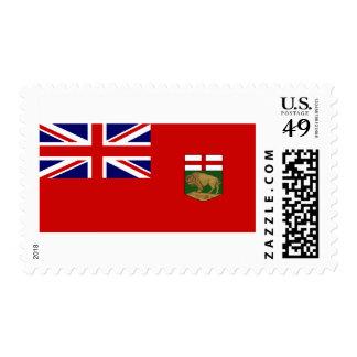 Flag of Manitoba Postage Stamps